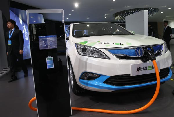 Green for go as new-energy cars take off