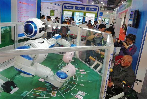 China aims to be leader in robotics