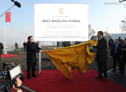 Li attends completion ceremony of Chinese-built bridge