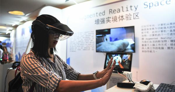 Augmented reality debuts at Summer Davos