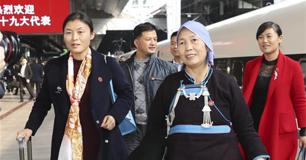 All 38 delegations arrive in Beijing for CPC congress