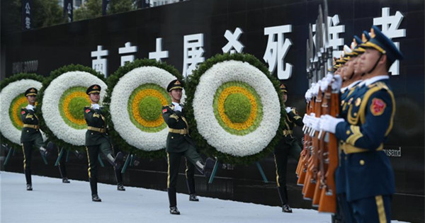 China holds state memorial ceremony for Nanjing Massacre victims