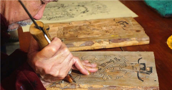 88-year-old wood engraver carves name in history books