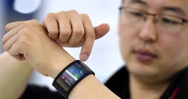 Futuristic gadgets on show at Digital China Summit