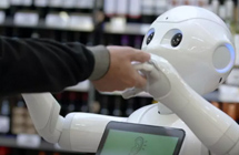 Fabio the robot sacked from supermarket after alarming customers