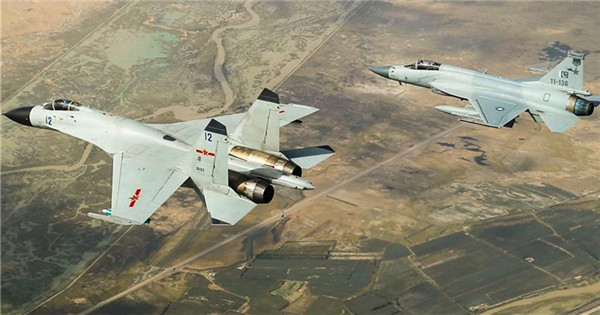Chinese, Pakistani air forces conduct joint drill