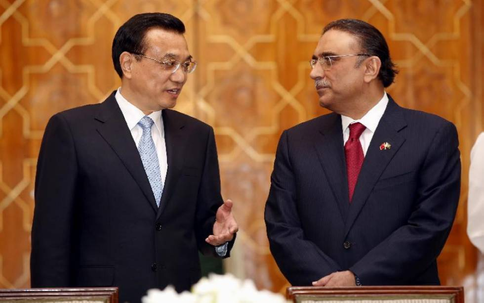 Chinese Premier, Pakistani President attend signing ceremony in Islamabad