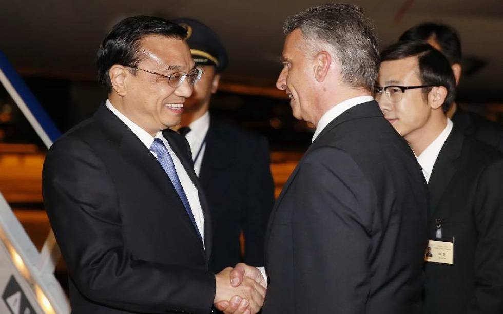 Chinese premier arrives in Switzerland for first trip to Europe