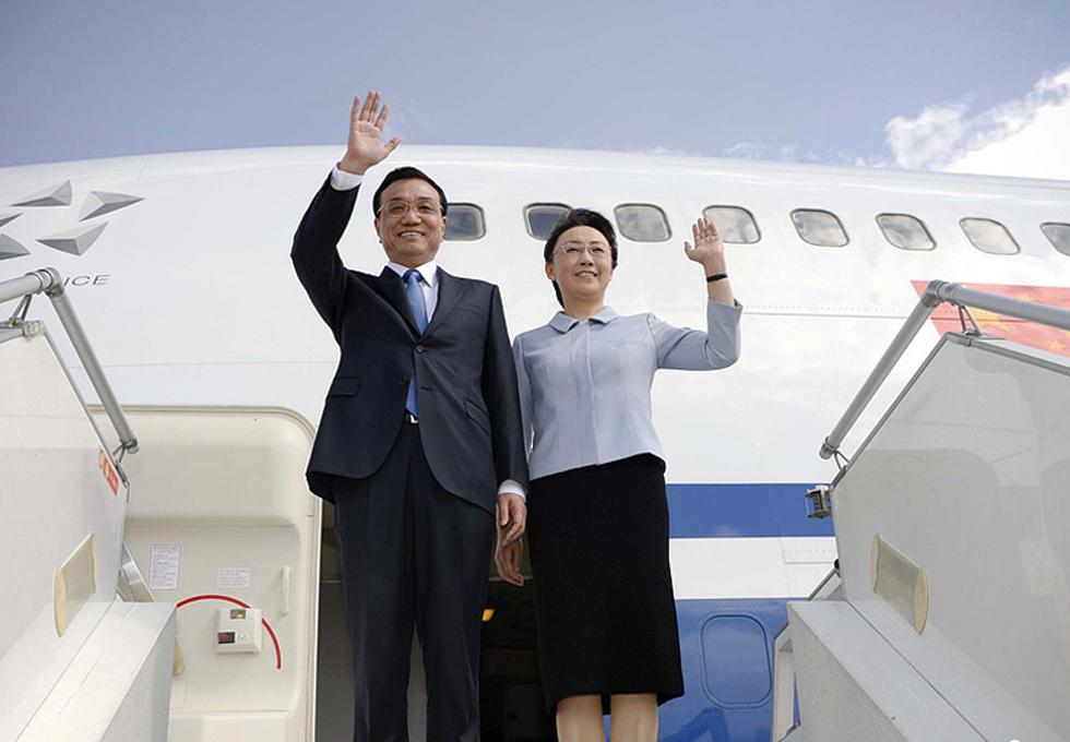 Premier Li begins first Africa trip