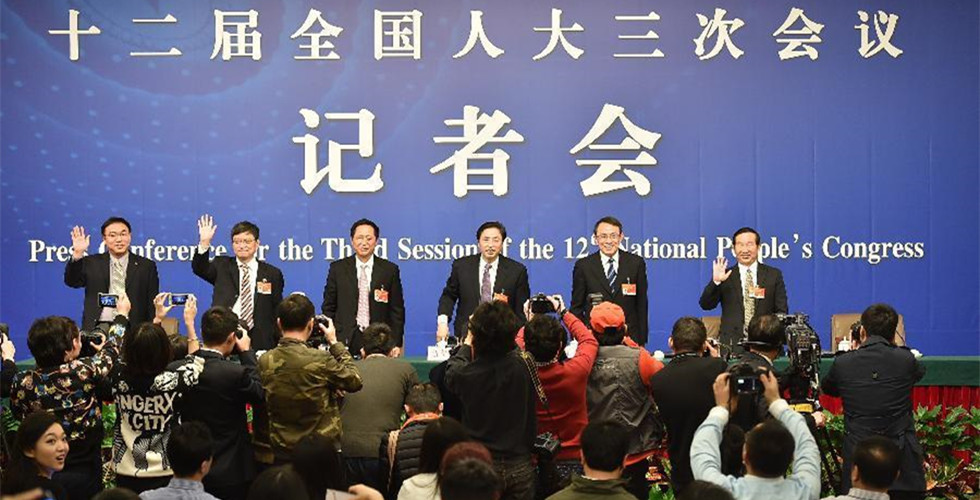 NPC deputies give press conference about China's higher education