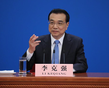 Chinese Premier Li Keqiang meets the press