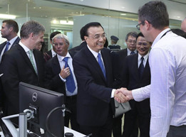 Premier Li visits Haier-owned research center in Auckland