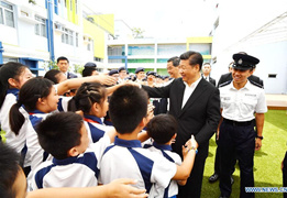 Xi calls on HK youths to serve HK, country