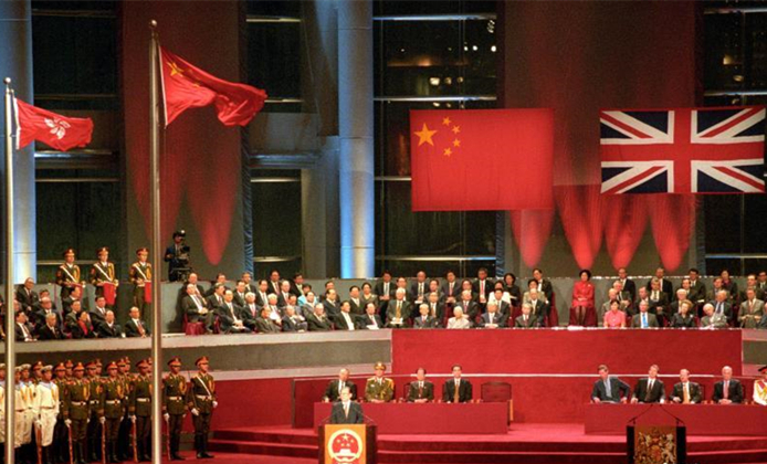 Hong Kong's development in 20 years