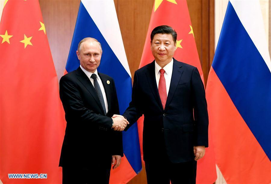 Ten moments of Xi-Putin meetings