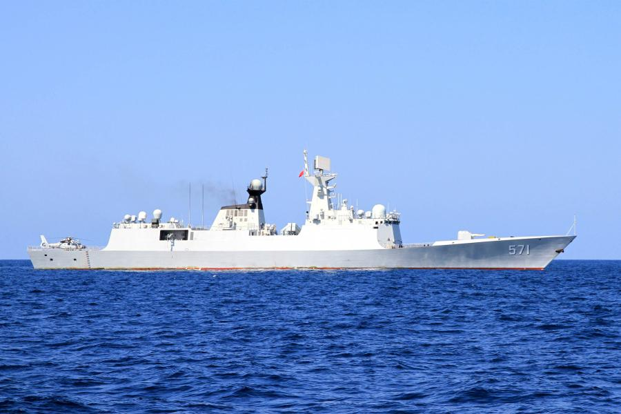 Chinese naval fleet sails for joint military drill with Russia