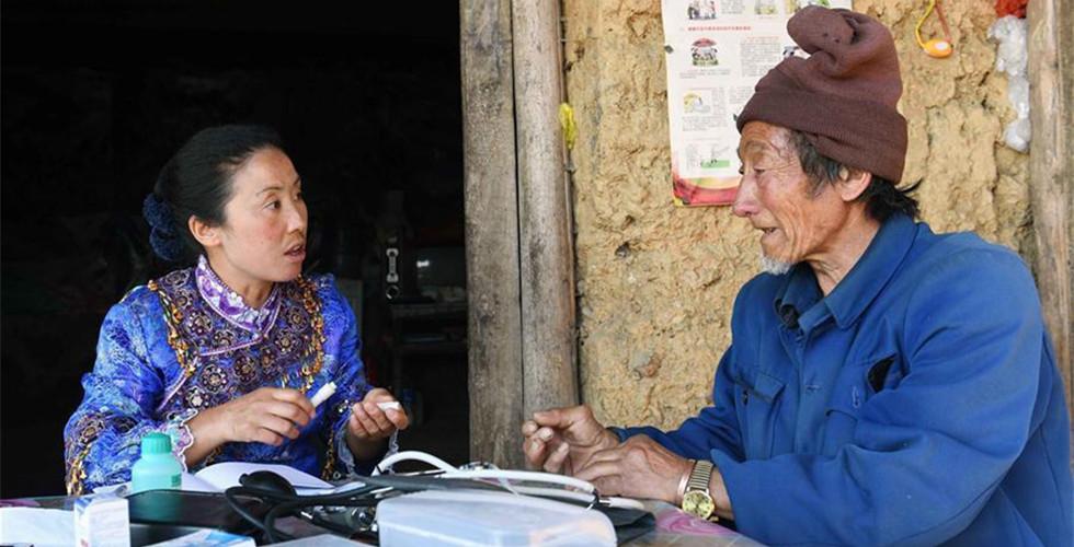 Pic story: NPC deputy Yang Lianying