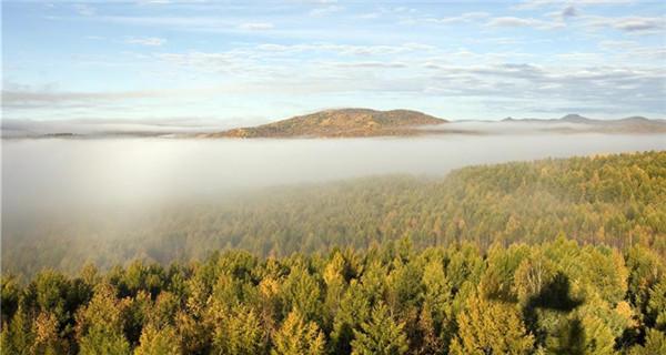 Autumn scenery of Hulun Buir in Inner Mongolia