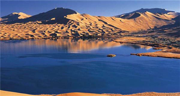 Badain Jaran Desert: Home of world