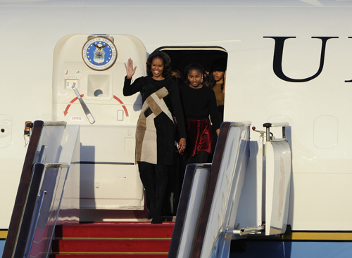 US first lady's China tour