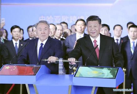 Xi visits Kazakhstan, attends SCO summit, World Expo