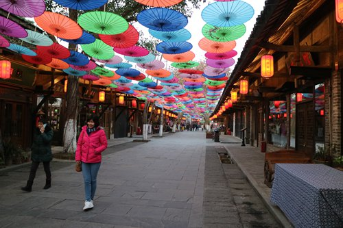 One of the old streets in Anren, Sichuan Province (Photo: Huang Tingting/GT)