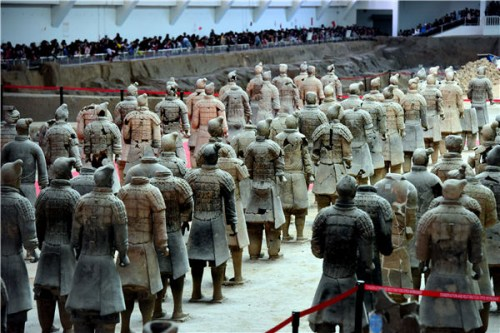 Xi'an in Shaanxi Province, known as a world-famous destination for traveling, boasts such world-renowned spots as the Terracotta Warriors and the Ming Dynasty city walls. (Photo provided to China Daily)