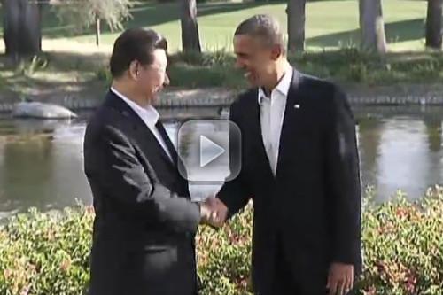 Xi, Obama chart new path