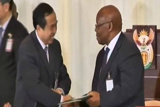 China signs $6.5b deals with S. Africa