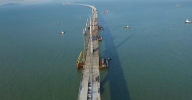 Preparation underway for the linking of HK-Zhuhai-Macao Bridge
