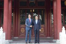 Chinese Premier Li meets Canadian PM Trudeau
