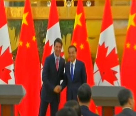 Premier Li visits Ottawa after attending UNGA