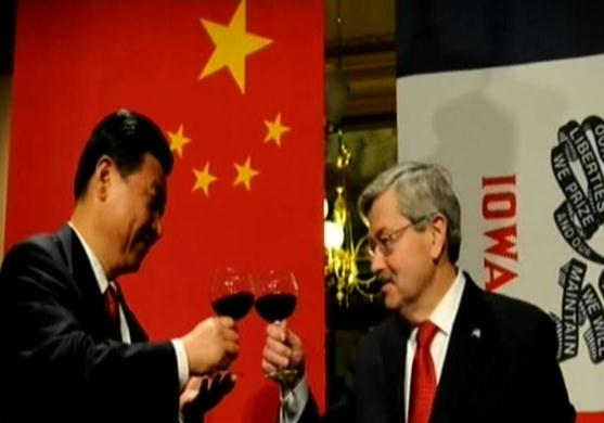 Iowa Governor Terry Branstad nominated for next U.S. ambassador to China