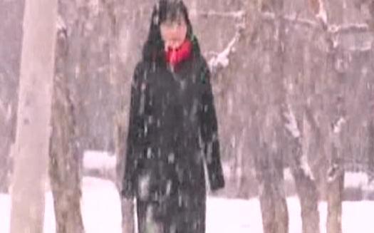 Snow blankets northwest China
