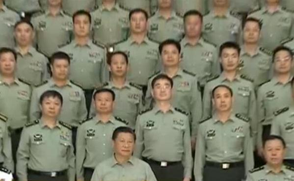 China to reorganize PLA into 13 divisions