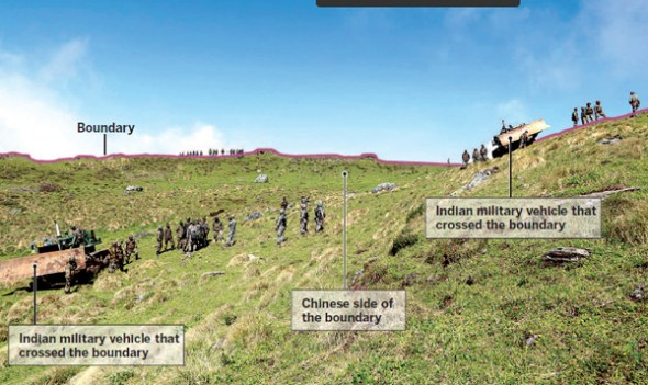 China complains to India over border clash which injured Chinese soldiers