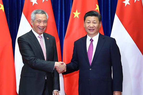 President Xi: China and Singapore to yield more cooperative results