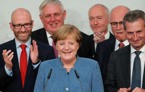 Three challenges for Merkel after