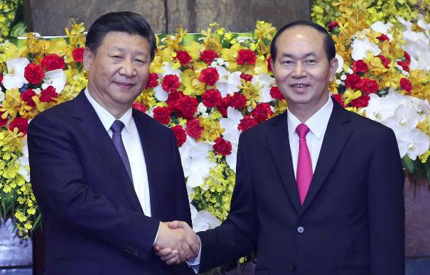 Xi urges proper management of differences over maritime issues with Vietnam