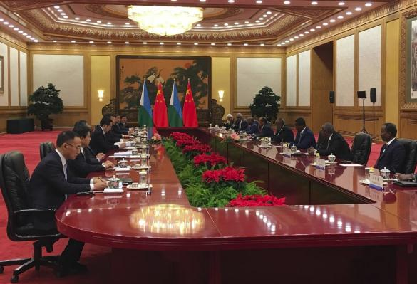Presidents of China, Djibouti meet in Beijing
