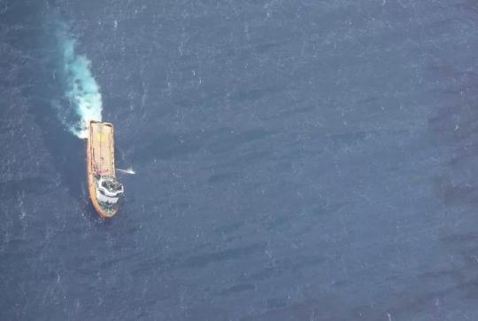 Oil tanker Sanchi's sunken location identified, next step to send underwater robots