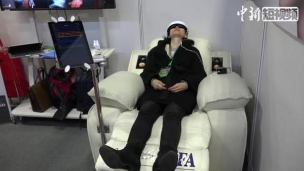 High-tech sleep products showcased at expo
