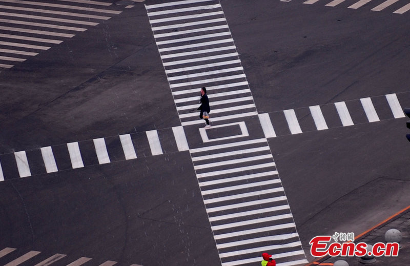 Shenyang sees first 'X' Crossing