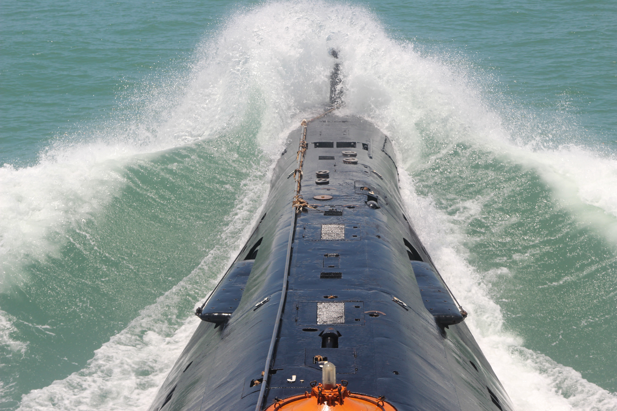 PLA Navy's submarine force conducts training