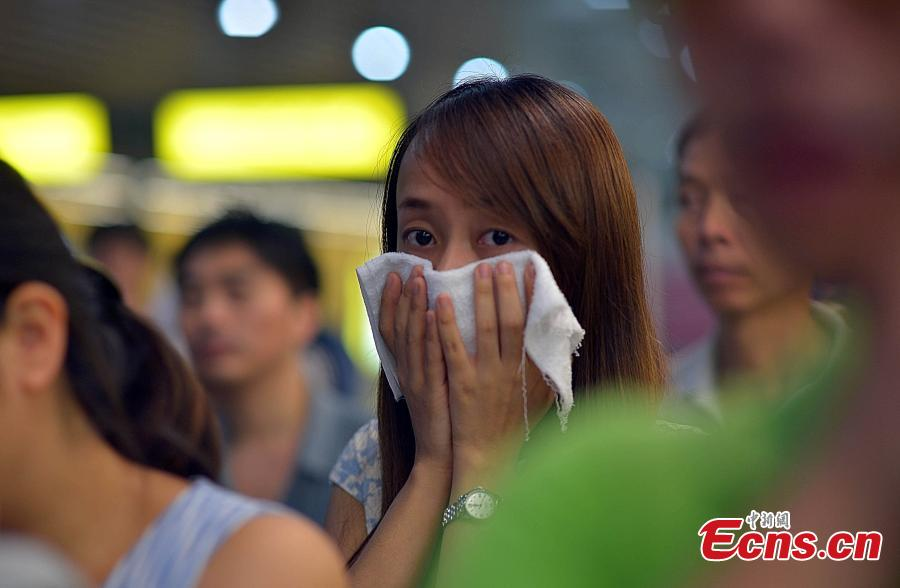 Metro fire drill held in Chongqing