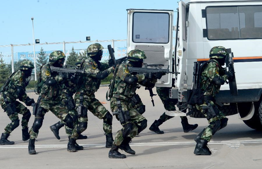 'Oriental-2014' joint anti-terror drill kicks off
