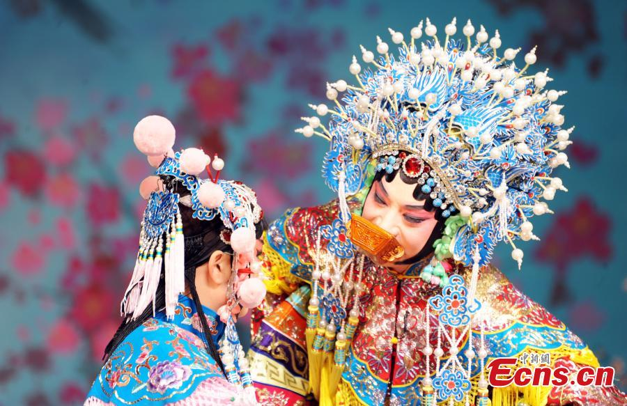 Legendary Peking Opera troupe performs in Washington D.C.