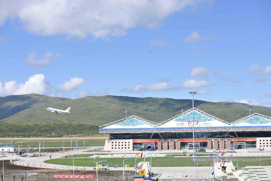 Hongyuan Airport opens in Sichuan, SW China