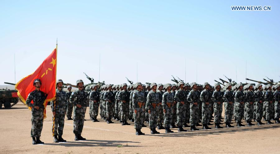 Peace Mission - 2014 military drill ends in Zhurihe, China's Inner Mongolia