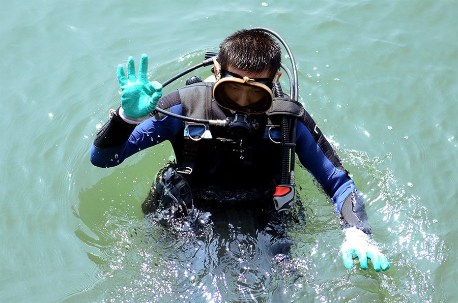 A quick glance at the trainings taken by Chinese navy divers